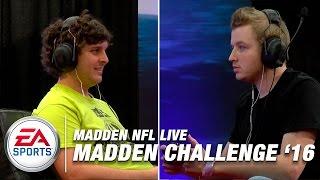 2016 Madden NFL Challenge Tournament Gameplay (Xbox One)   Madden NFL Live