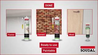 Soudal - How to Repair Mortar Joints in Brickwork using Repair Express Cement