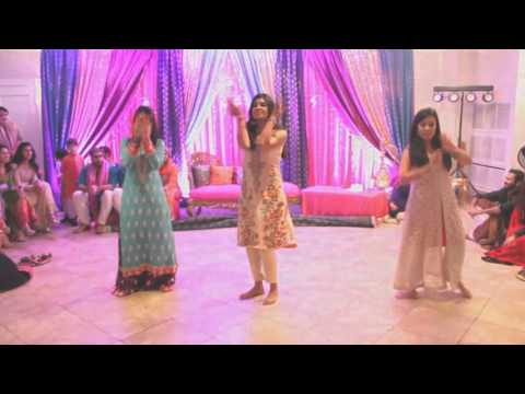 Sonia and Hamza s Mehndi Guy Girl Dance YouTube 720p