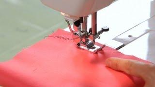 How to Make a Zigzag Stitch   Sewing Machine