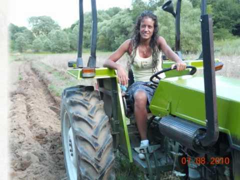 Donna sicura in agricoltura