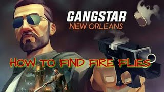 How to find fire flies (jugunu) in gangstar New Orleans