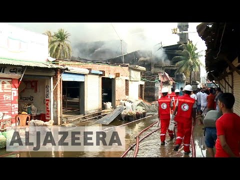 Bangladesh factory fire: Search and rescue begins, death toll rises