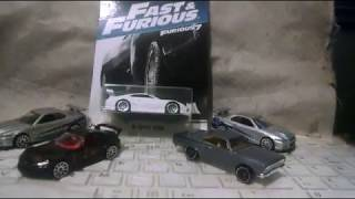 Hot wheels fast and furious 2017 cars preview
