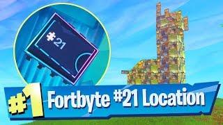 Fortnite Fortbyte #21 Location - Found Inside A Metal Llama Building