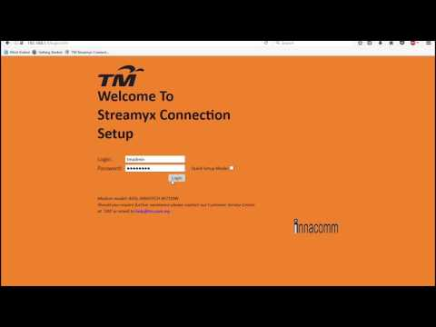 Cara Tukar Password Modem Streamyx
