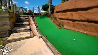 DID ELISHA FIND THE SECRET TO GETTING A MINI GOLF HOLE IN ONE?!