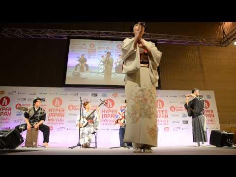 Concierto Hibiki Ichikawa, Koji Kishida, Akari Mochizuki. Hyperjapan 2013.