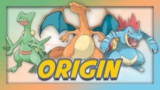 Pokemon Origin - Starter Pokemon