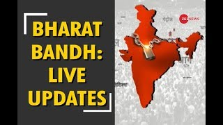 Live updates on Bharat Bandh from different states