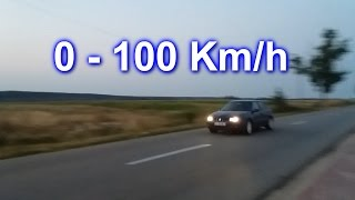 0-100 Km/h Acceleration - Seat Leon 1m 1.6 16v