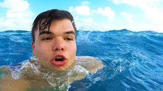 I ALMOST DROWNED!