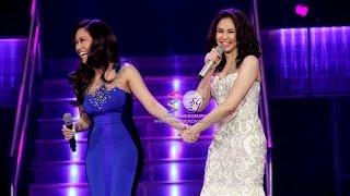 Sarah G and Rachelle Ann Go, together again!