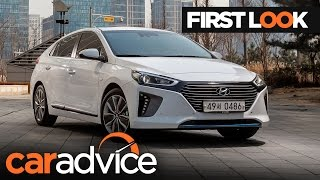 2017 Hyundai Ioniq First Look review | CarAdvice