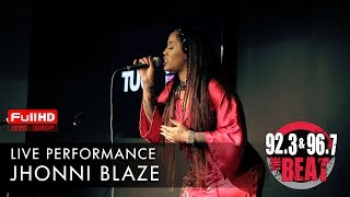 Jhonni Blaze LIVE in The Beat ATL's performance lounge!