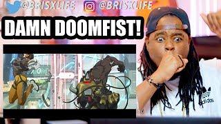 NEW HERO | Doomfist Origin Story | Overwatch | REACTION!!!