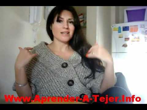 Curso Como Aprender A Tejer A Crochet Y Con Dos Aguajas Paso A Paso
