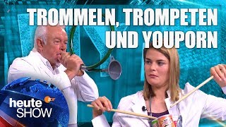 DIY Musikinstrumente – Hazel Brugger bastelt mit Wolfgang Kubicki | heute-show