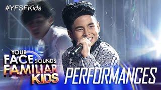 Your Face Sounds Familiar Kids: Sam Shoaf as Gary Valenciano - Hataw Na