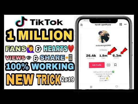 How To Increase Tiktok Fans & Likes 2019 Tiktok Free Fans Tiktok Free Followers Life Tech Science