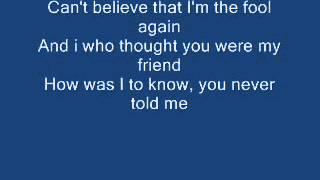 Westlife Fool Again Lyrics