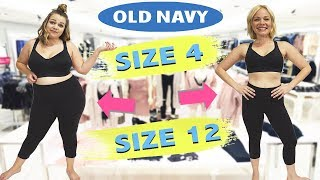 Size 4 & Size 12 Try On The Same Outfits From Old Navy