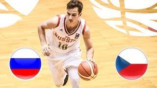 Russia v Czech Republic - Full Game - FIBA U20 European Championship Division B 2018