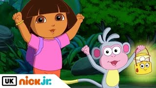 Dora the Explorer | Dora's Night Light Adventure | Nick Jr. UK