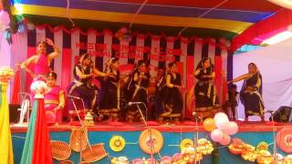 Bangla folk group  dance O dhan vani by Odhira