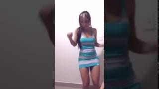 dance in mini dress