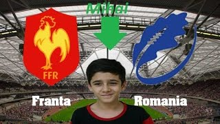 FIFA 16 Franta vs. Romania | Sini Gaming vs. George Gaming | Mihai copilu din Iran