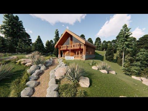 Connect Kütük Ev Çalışması İkiz villa