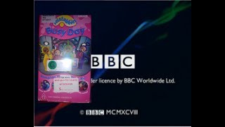 Opening And Closing To Teletubbies Busy Day 2003 VHS Australia