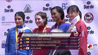 X WKF Junior, Cadet &U21 World Championships, 2.017, Tenerife (Spain). Final kumite u21 female -50
