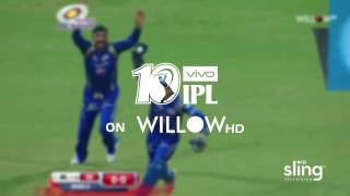 Watch IPL 2017 on Willow TV for only $10/mo. with Sling TV!