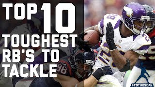 Top 10 Toughest Running Backs to Tackle | #TDTuesday | NFL Highlights