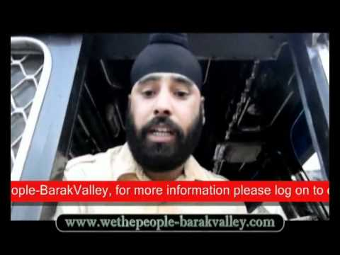 National Highway 44 Sonapur Region Interview of Truck Drivers who suffers from Several Probles   Videop captured by www WeThePeople BarakValley Com
