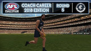 FLYING HIGH? - AFL Evolution Coach Career 2018 Edition (Round 5)