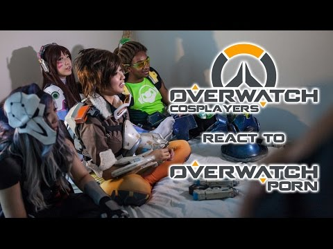 Xxx Mp4 Overwatch Cosplayers React To Overwatch Porn 3gp Sex