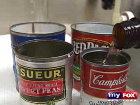 Bisphenol A BPA Contaminating Our Food