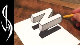 Ultimate Guide on How to Draw 3D Floating Letters - Very Easy!