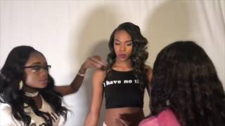 Lingerie Photoshoot Behind the scenes