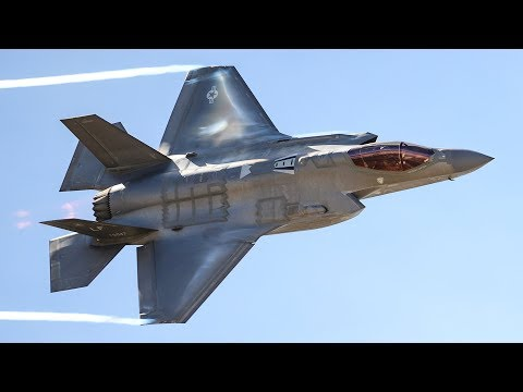 watch AWESOME F-35 IN ACTION - DROP BOMBS & FLIGHT