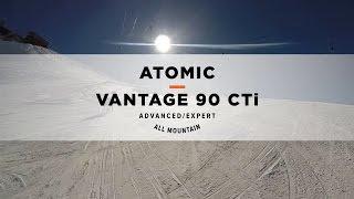 Atomic Vantage 90 CTI Slopeside Ski Review 2016/2017 | Ellis Brigham