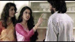 Mad Love - Omkaram Movie Highlight Scene - Rajasekhar, Prema, Bhagyashree