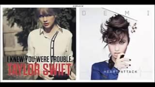 Mashup Taylor Swift & Demi Lovato - Heart Trouble
