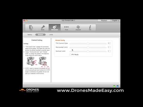 How to use and download the DJI Software Assistant for Phantom 2 and RC