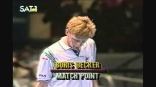 Becker vs. Lendl - incredible match-point