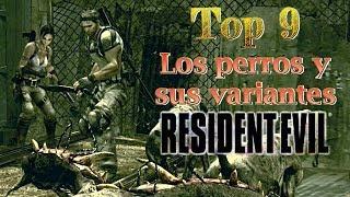 Top 9: Los perros y sus variantes en Resident Evil