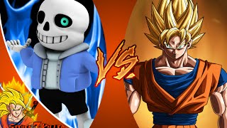 SANS vs GOKU! Salt Assault! NEW SERIES!! Undertale vs Dragon Ball Z REACTION!!!